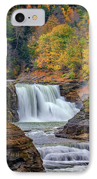 Autumn At The Lower Falls Phone Case by Rick Berk