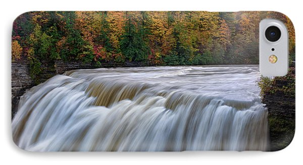 Autumn At The Middle Falls  IPhone Case