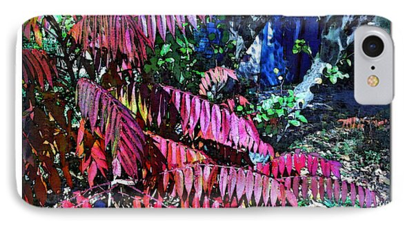 IPhone Case featuring the photograph Autumn At The Taverne by Joan  Minchak