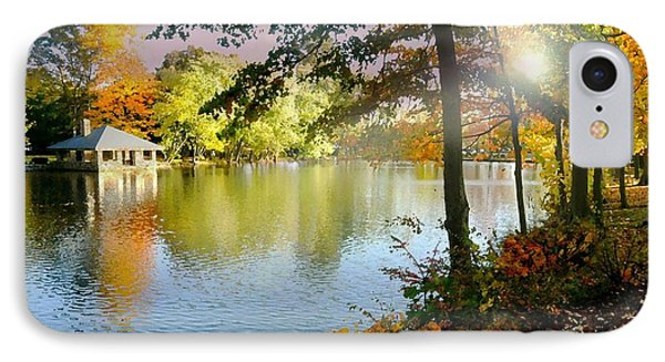 Autumn At Tilley Pond IPhone Case by Diana Angstadt