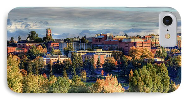 Autumn At Wsu Phone Case by David Patterson