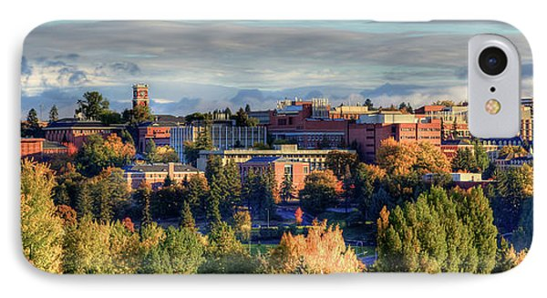 Autumn At Wsu IPhone Case by David Patterson