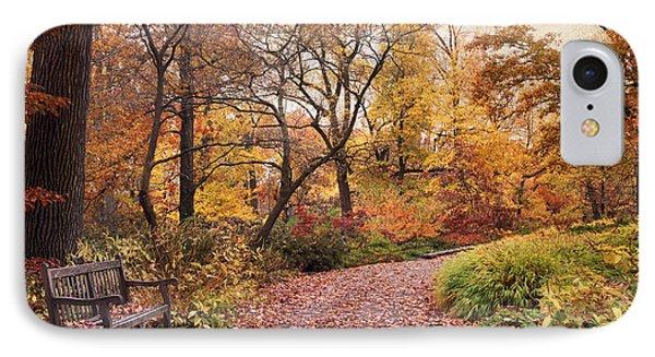 Autumn Azalea Garden IPhone 7 Case