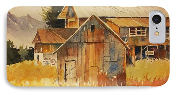Autumn Barn And Sheds IPhone Case
