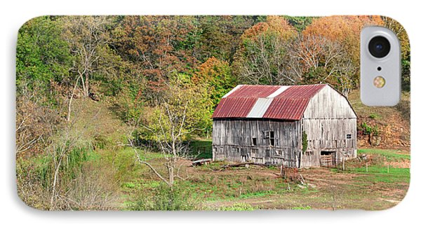 Autumn Barn IPhone Case by Todd Klassy