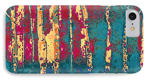 Autumn Birches IPhone Case by Holly Martinson