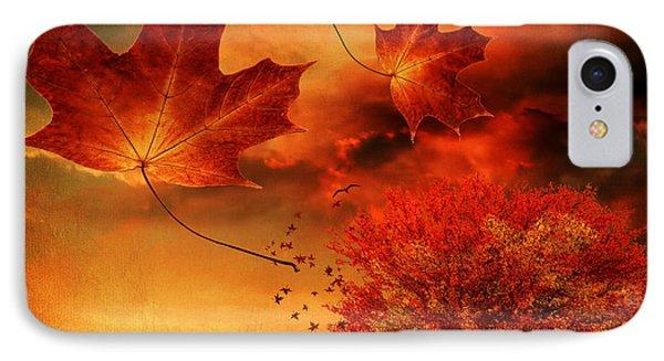 Autumn Blaze Phone Case by Lourry Legarde