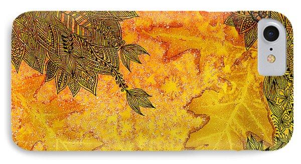 Autumn Breeze I IPhone Case by Amrita Dutia