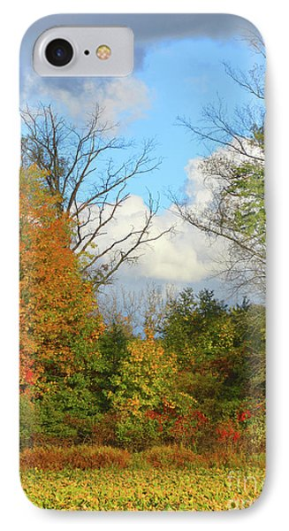 Autumn Breeze Nature Art IPhone Case by Robyn King