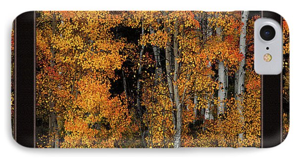 Autumn Brilliance Triptych IPhone Case