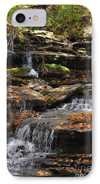 IPhone Case featuring the photograph Autumn Brook by Diane E Berry
