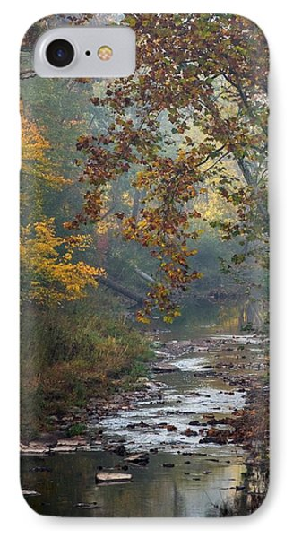 Autumn By The Creek IPhone Case by Elsa Marie Santoro