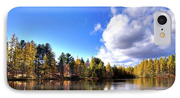 IPhone Case featuring the photograph Autumn Calm At Woodcraft Camp by David Patterson