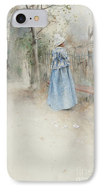 Autumn IPhone Case by Carl Larsson