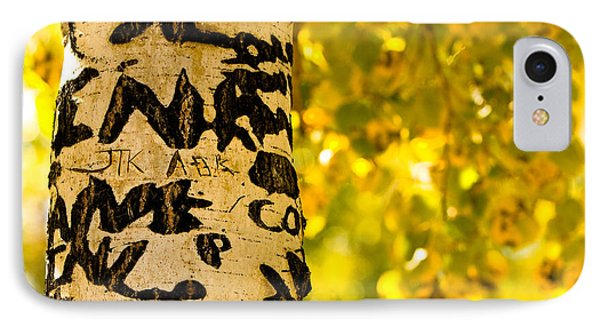 Autumn Carvings Phone Case by James BO  Insogna