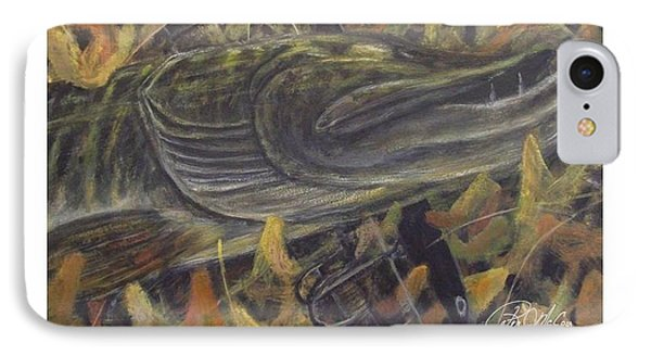 Autumn Catch - Musky IPhone Case by Peter McCoy