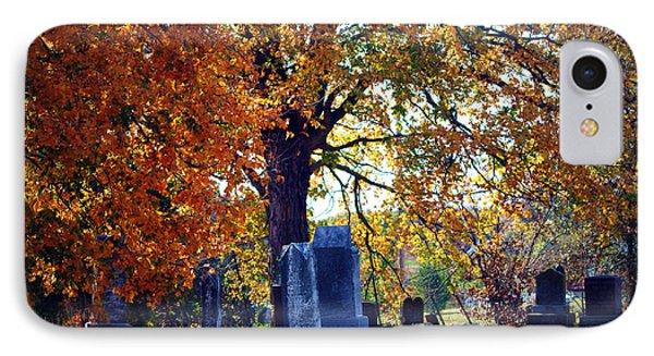 Autumn Cemetery IPhone Case