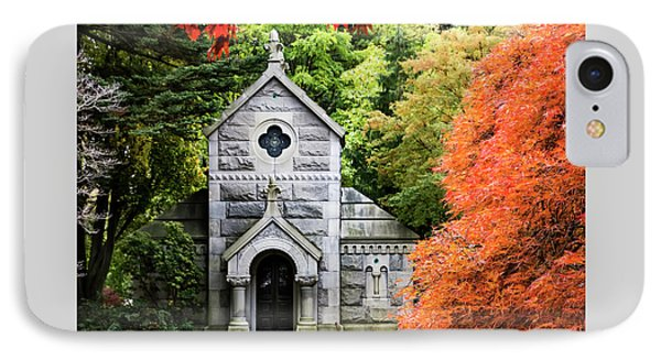 Autumn Chapel IPhone Case by Betty Denise