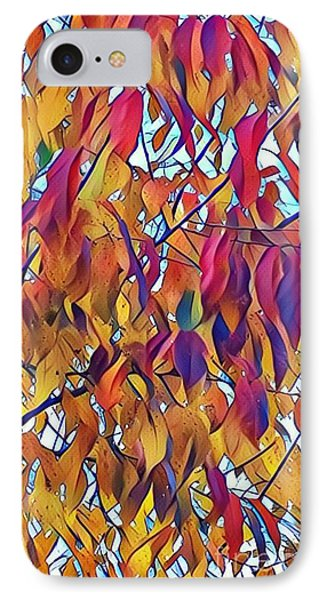 Autumn Color IPhone Case by Diane Miller