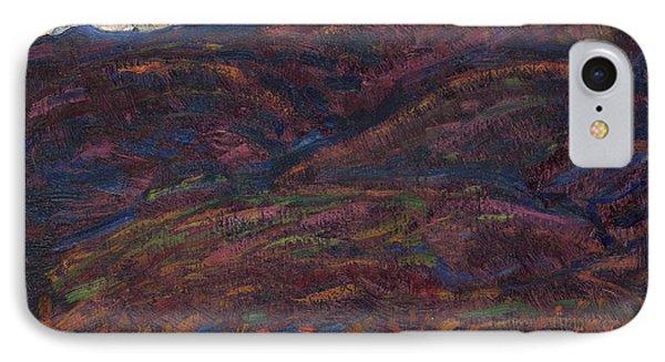Autumn Color IPhone Case by Marsden Hartley