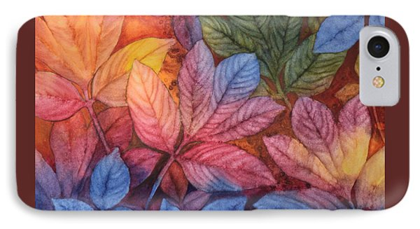 Autumn Color IPhone Case by Nancy Jolley