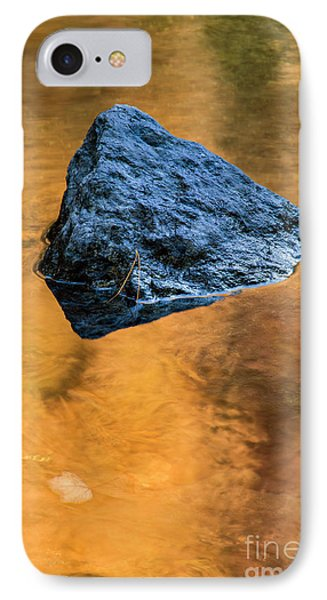 IPhone Case featuring the photograph Autumn Color On Little River - D009990 by Daniel Dempster