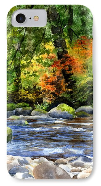Autumn Colors In A Forest IPhone Case by Sharon Freeman