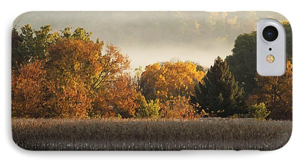 Autumn Cornfield IPhone Case by Inspired Arts