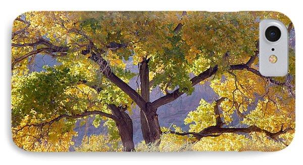 Autumn Cottonwood - Zion IPhone Case