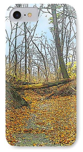 Autumn Creekbed IPhone Case
