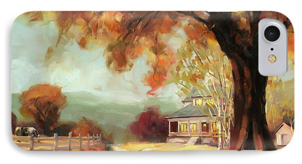 Geese iPhone 7 Case - Autumn Dreams by Steve Henderson