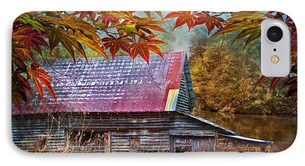 Autumn Embrace IPhone Case by Debra and Dave Vanderlaan