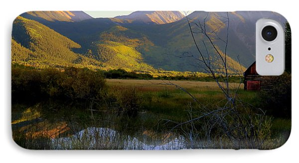IPhone 7 Case featuring the photograph Autumn Evening by Karen Shackles