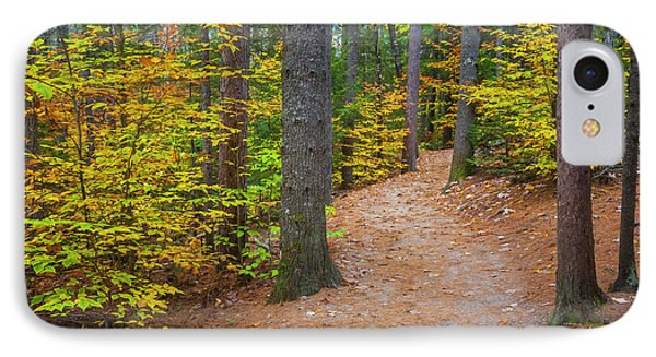 IPhone Case featuring the photograph Autumn Fall Foliage In New England by Ranjay Mitra