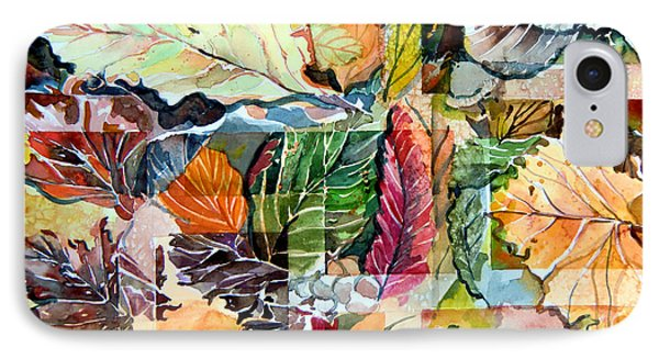 Autumn Falls IPhone Case by Mindy Newman