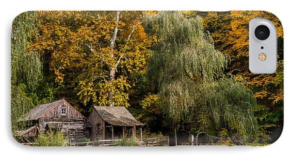 Autumn Farm IPhone Case by Glenn DiPaola