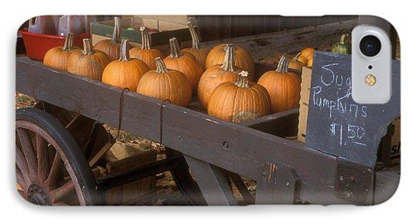 Autumn Farmstand IPhone Case by John Burk