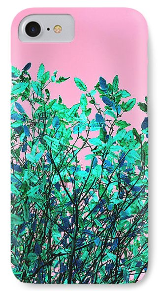 IPhone Case featuring the photograph Autumn Flames - Pink by Rebecca Harman
