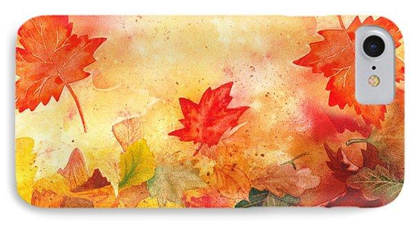 Autumn Flow IPhone Case by Irina Sztukowski
