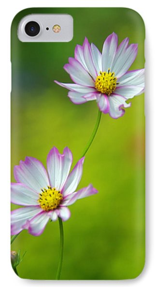 IPhone Case featuring the photograph Autumn Flowers by Byron Varvarigos