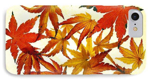 Autumn Flury Phone Case by Rebecca Cozart