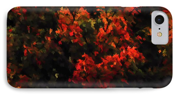 Autumn Foliage 5 IPhone Case by Lanjee Chee