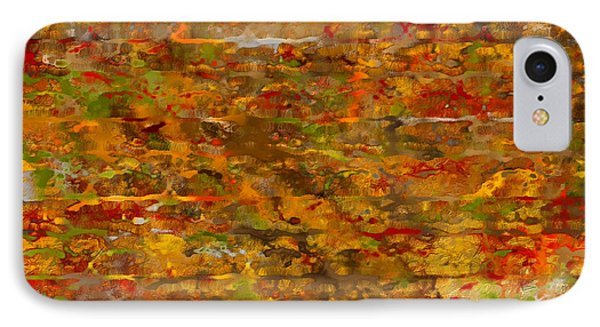 Autumn Foliage Abstract IPhone Case
