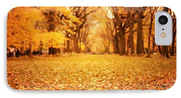 Autumn Foliage - Central Park - New York City Phone Case by Vivienne Gucwa