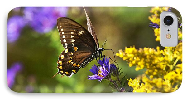 Autumn Garden Butterfly Phone Case by Christina Rollo