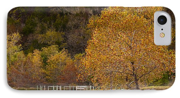 IPhone Case featuring the photograph Autumn Glory In Beaver's Bend by Tamyra Ayles