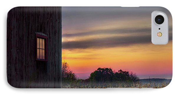 IPhone 7 Case featuring the photograph Autumn Glow Square by Bill Wakeley