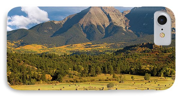 Autumn Hay In The Rockies IPhone Case by Steve Stuller