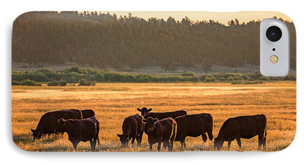Autumn Herd IPhone Case by Todd Klassy