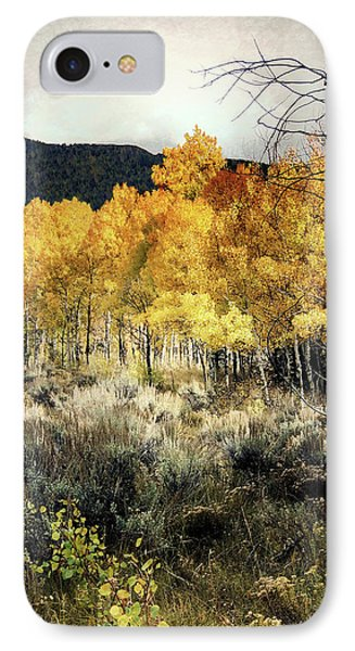 IPhone Case featuring the photograph Autumn Hike by Jim Hill